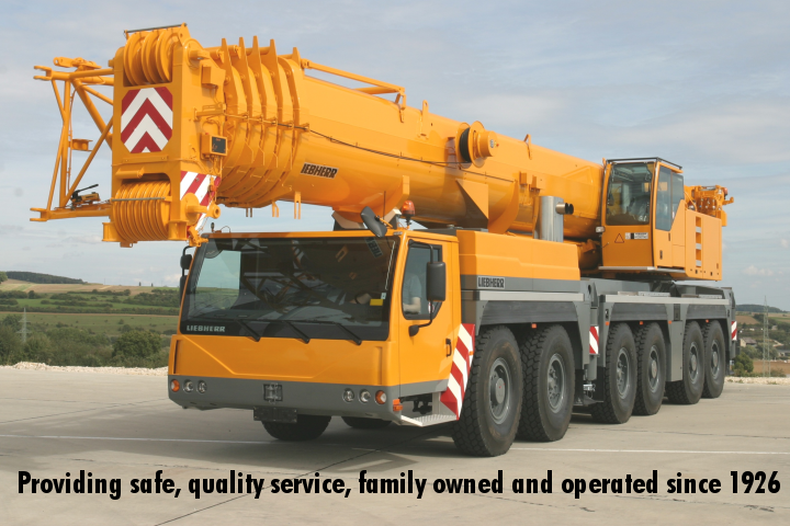 crane rental and service